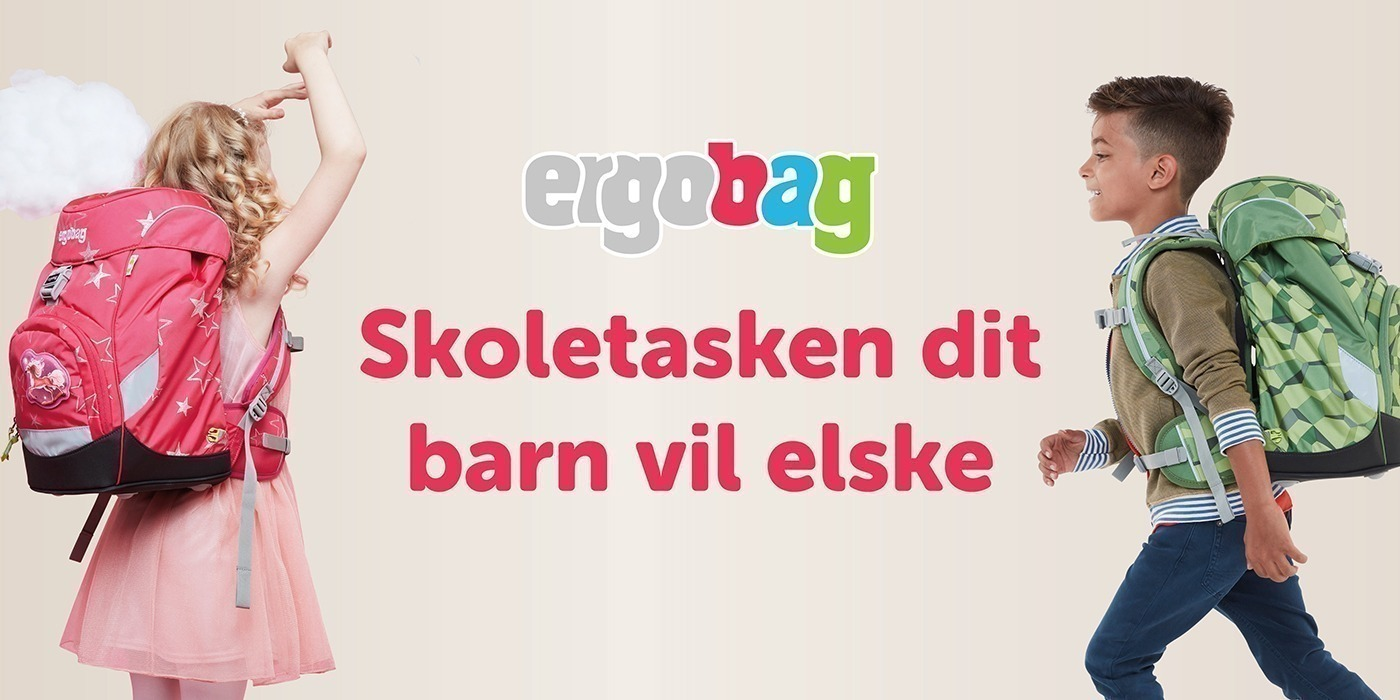 Fabriksnye Ergobag skoletasker   Køb Ergobag Prime og penalhus i NEYE PB-48